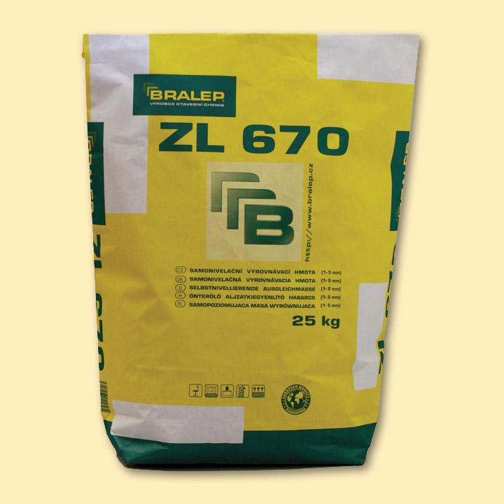 Samonivelační stěrka Bralep ZL 670 25kg