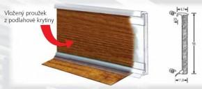 Obvodová lišta BOLTA pro PVC a vinylové podlahy 2,5m, Lišta Bolta barvy 0101 Bílá