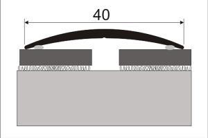 Cena za kus: Přechodový profil přechodová lišta 40mm délka 93cm samolepící dekor kov, Dekor Zlatá 00