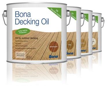 BONA Decking Oil balení 2,5L neutrální, Varianta Neutrální