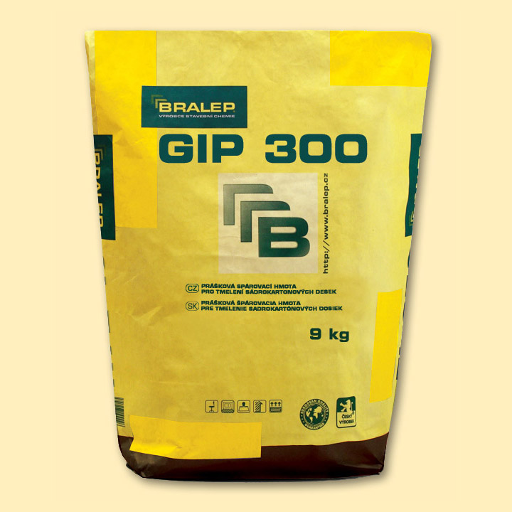 Bralep GIP300, balení 4 kg na sádrokarton