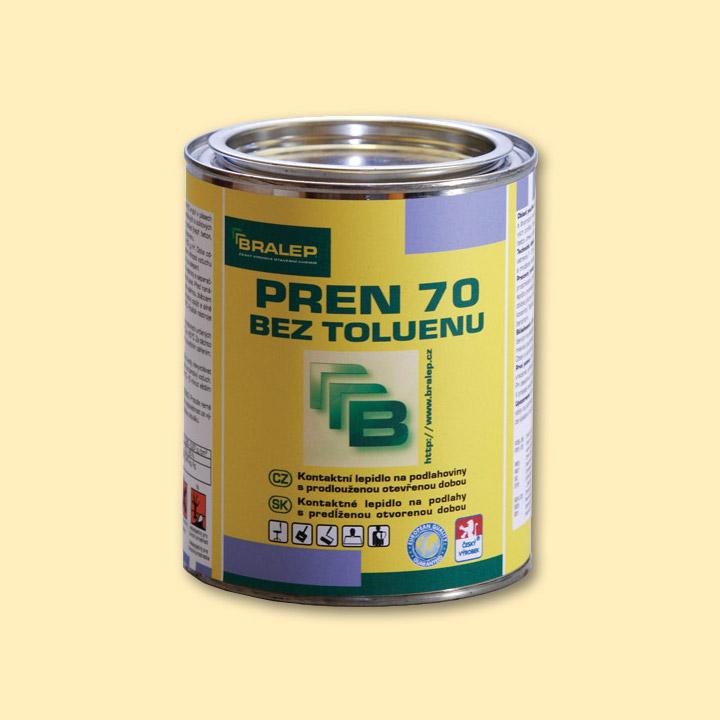 Rozpouštědlové lepidlo na podlahy BRALEP PREN 70 bez toluenu balení 0,35kg