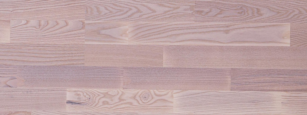 Dřevěná podlaha Befag Eurowood Jasan Markant, bílé lakování