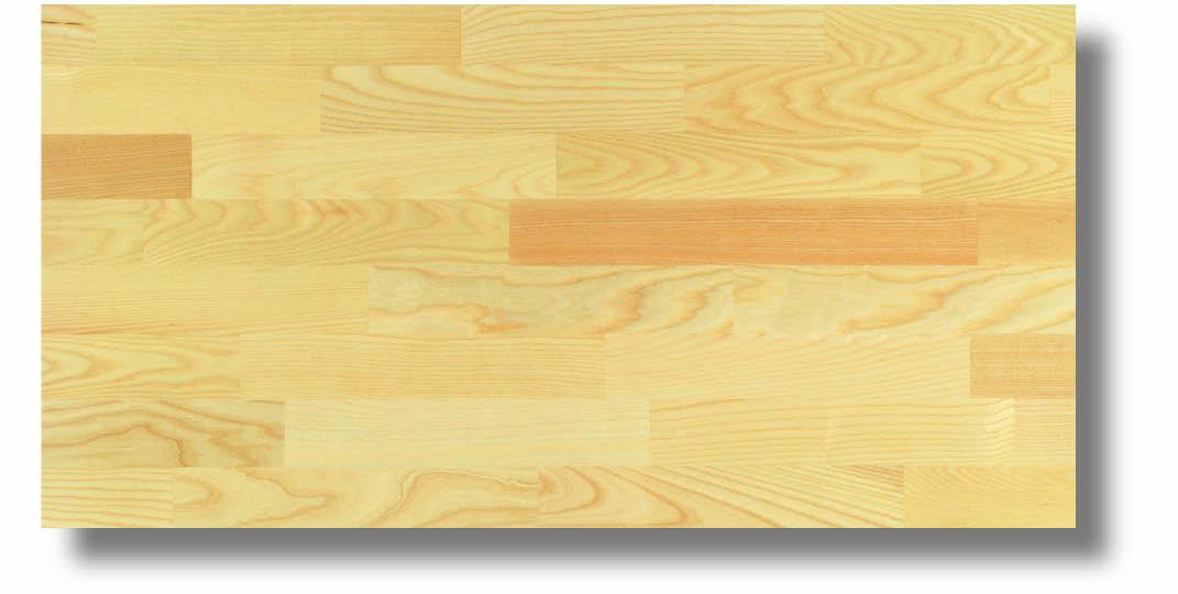 Dřevěná podlaha Befag Eurowood Jasan přírodní, lak