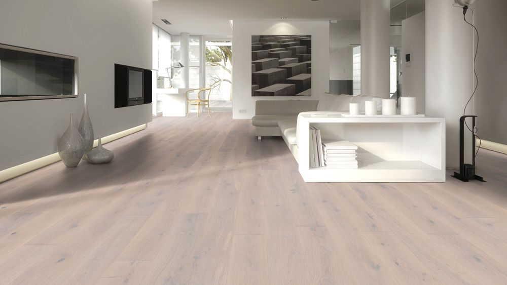 Dřevěná podlaha EUROWOOD Dub bílý rustikal, olej