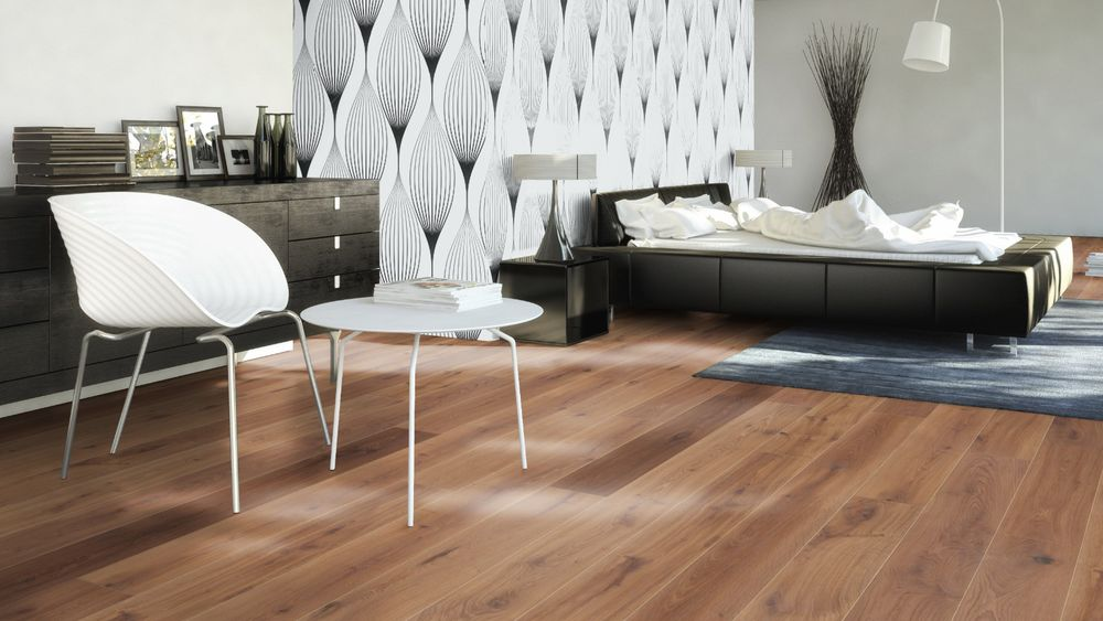 Dřevěná podlaha EUROWOOD Dub hnědý rustikal, olej