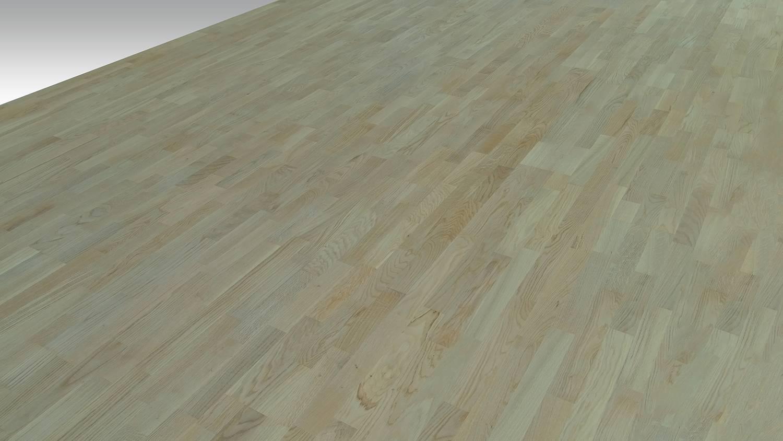 DOPRAVA ZDARMA! Dřevěná podlaha MOLAND Molaloc Parquet 14963164 Dub Classic bílý matný lak