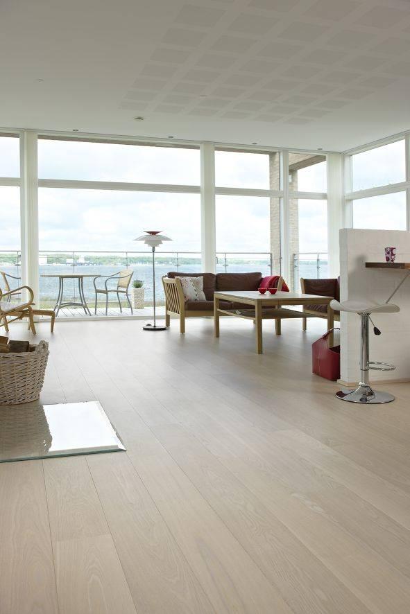 DOPRAVA ZDARMA! Dřevěná podlaha MOLAND Molaloc Wideplank 14700253 Jasan Classic bílý