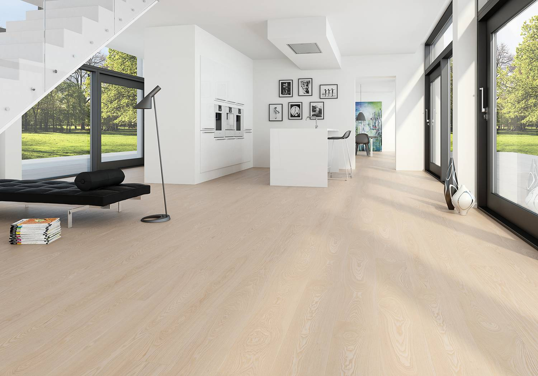 DOPRAVA ZDARMA! Dřevěná podlaha MOLAND Molaloc Wideplank 14700254 Jasan Classic
