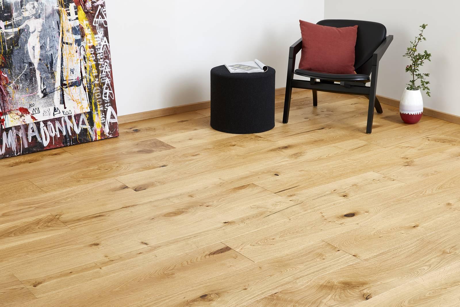 DOPRAVA ZDARMA! Dřevěná podlaha MOLAND Sandgate Wideplank 14803262 Dub Living