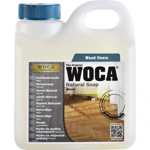 WOCA Mýdlo na dřevěné olejované podlahy přírodní 1L