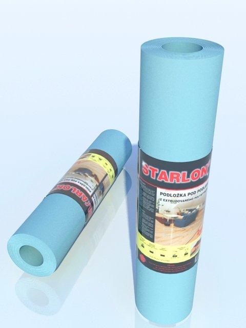 Podložka STARLON TOP 1,6mm role balení 20 m2 na podlahové vytápění