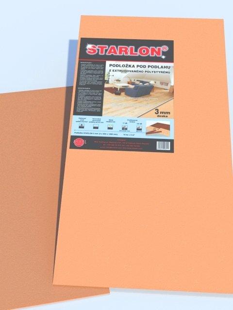 Podložka STARLON 3mm desky balení 5 m2